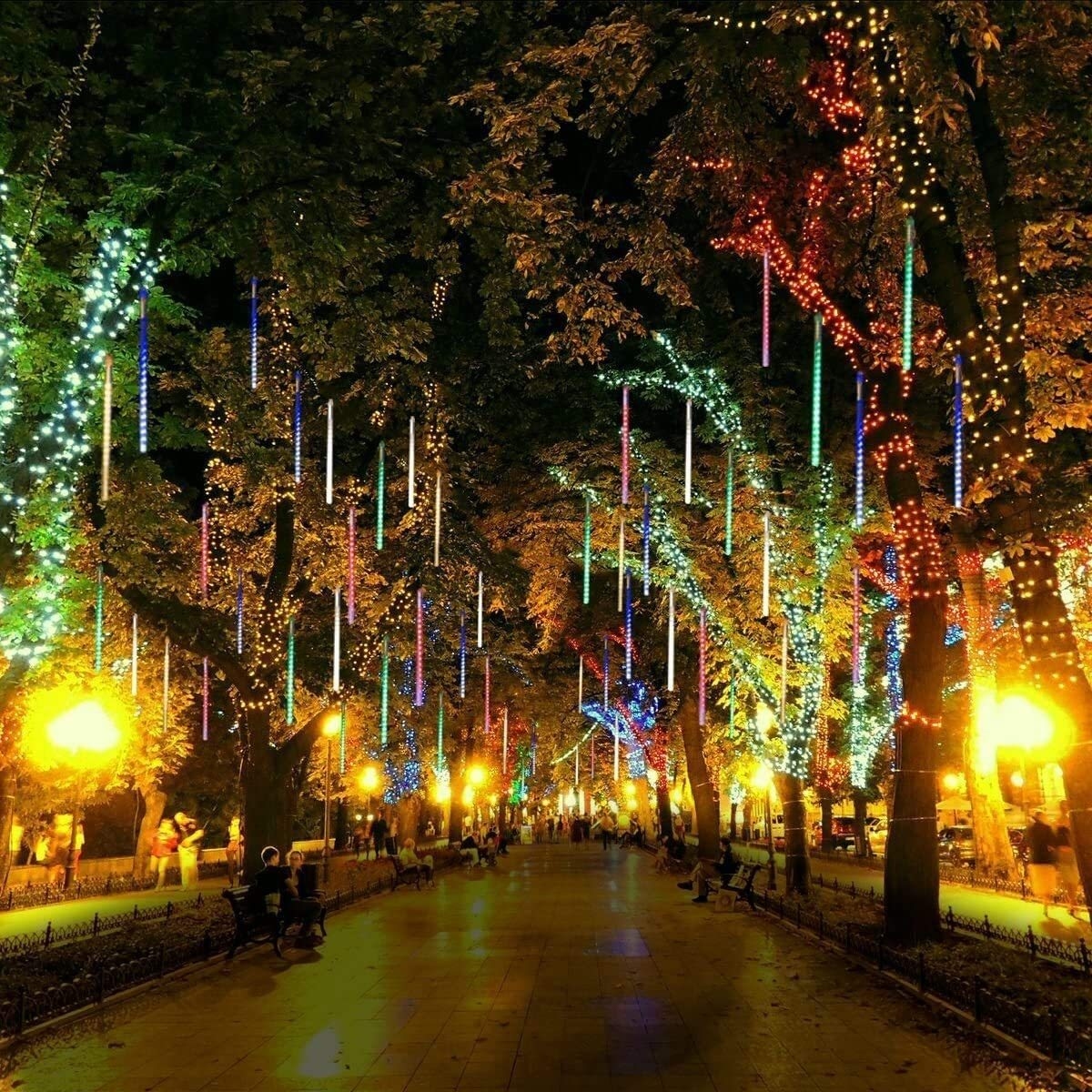 🔥Perfect Decorate For Christmas🔥Snow Fall LED Lights