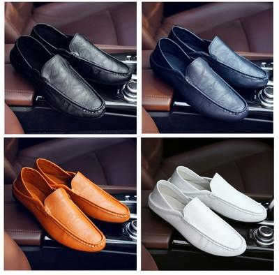 Korean casual shoes leather shoes
