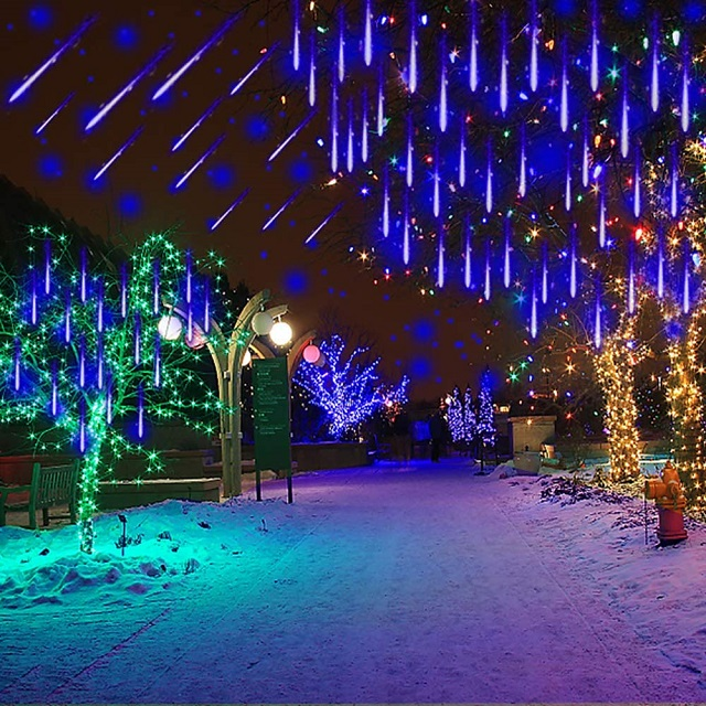 💘New Year's gift🎁Snow Fall LED Lights (Buy 12 Get 20 Free)