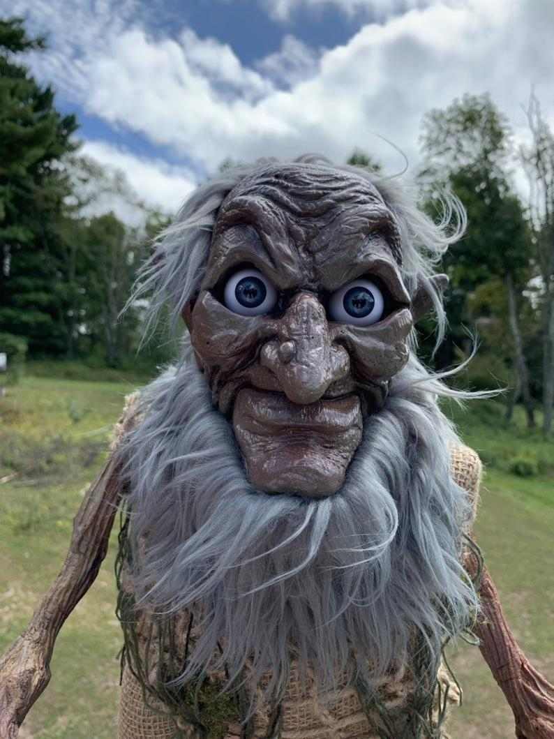 Hobgoblin – Giant Life-sized Fully Posable OOAK Goblin Creature Or Halloween Decoration (free shipping)