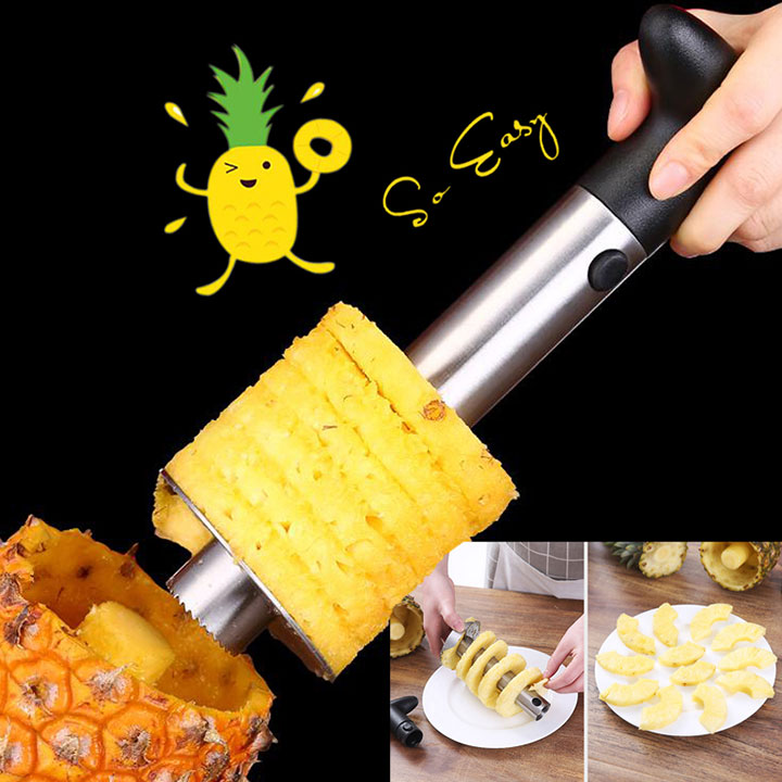 Ahome7 - Stainless Steel Pineapple Fruit Corer Peeler