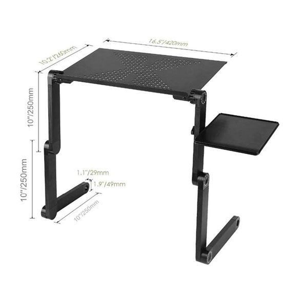 🔥(Father's Day Gift)🔥 Adjustable Ergonomic Portable Aluminum Laptop Desk(Buy 2 Get Free Shipping)