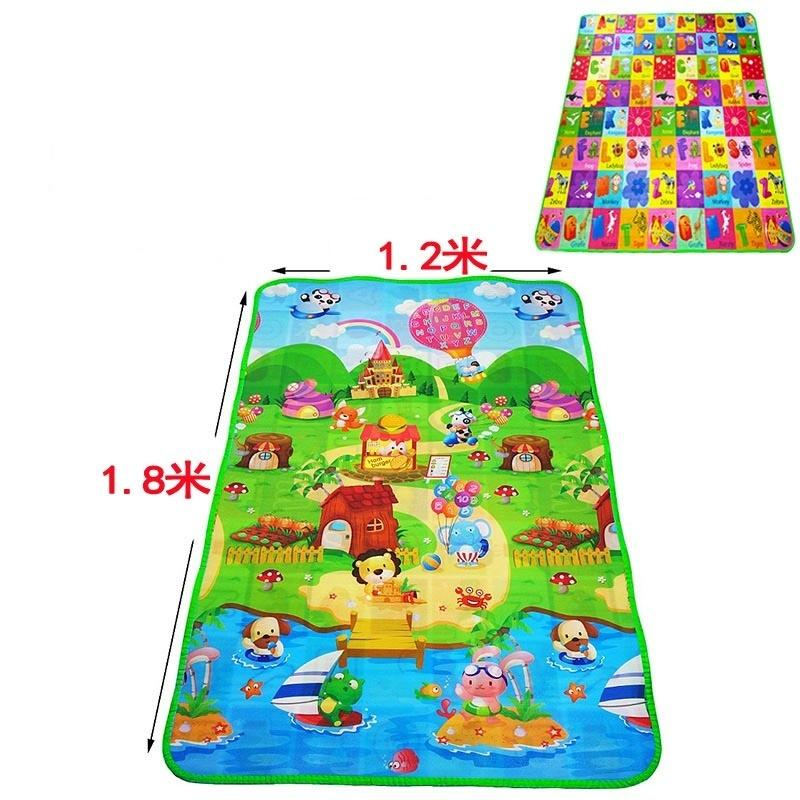 Smart Mom Baby Items Play Mats Double-sided crawling mat baby infant baby moisture-proof waterproof foam mat game mat
