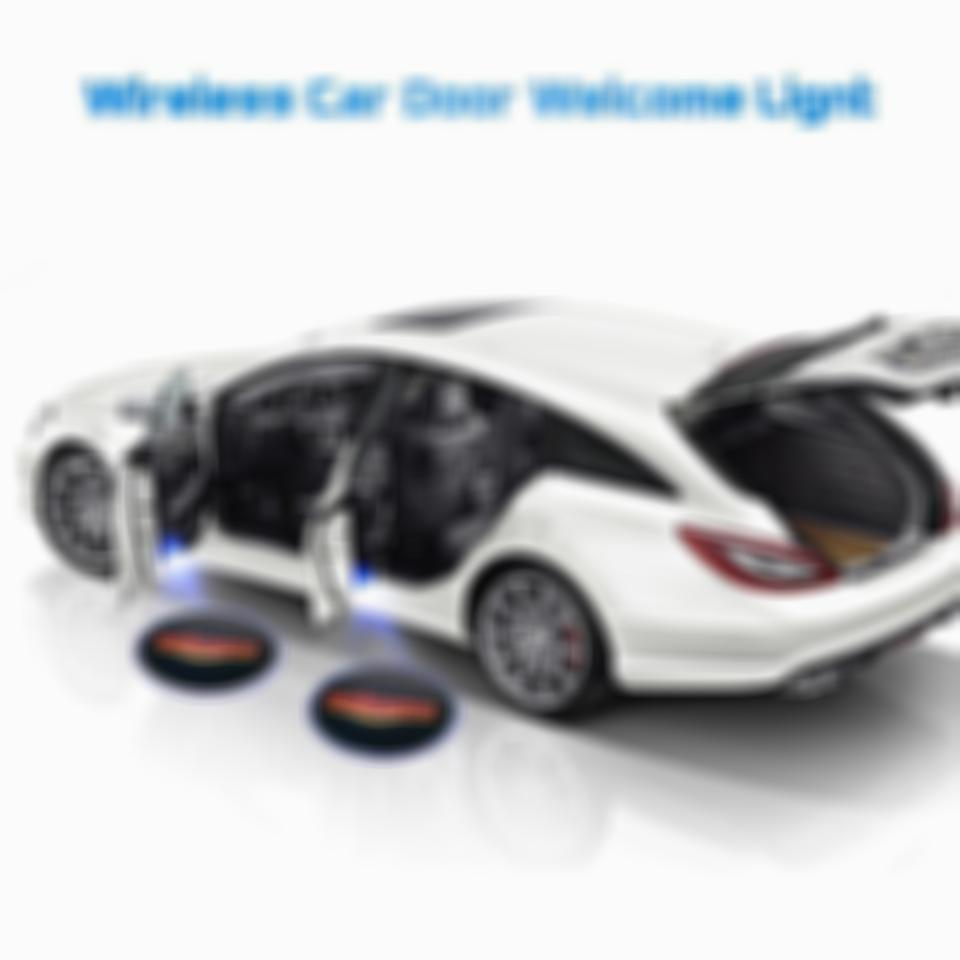 😍Last batch $9.99 - 90% OFF DISCOUNT-Universal Wireless Car Projection LED Projector Door Shadow Light(4Pacs Recommend)