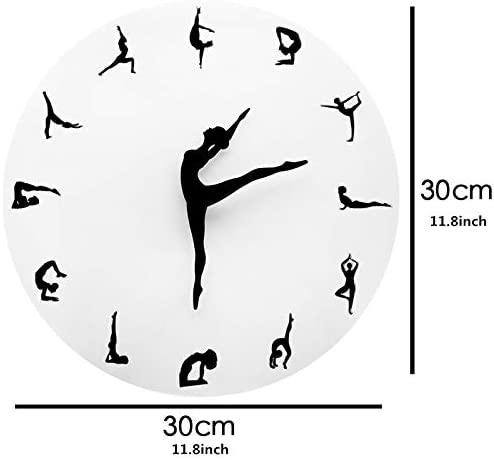 Charming Ballerina Wall Clock
