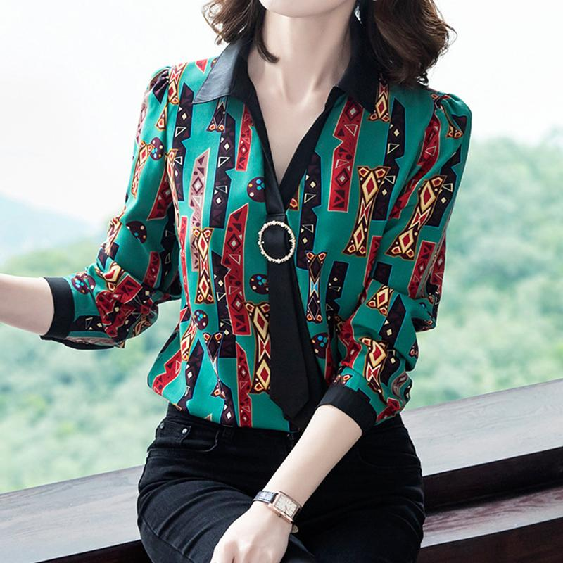 New-styled fashionable chiffon blouse in 2020