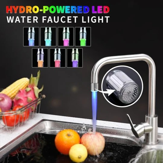 (LAST DAY PROMOTIONS- Save 50% OFF)RGB Intelligent LED Faucet