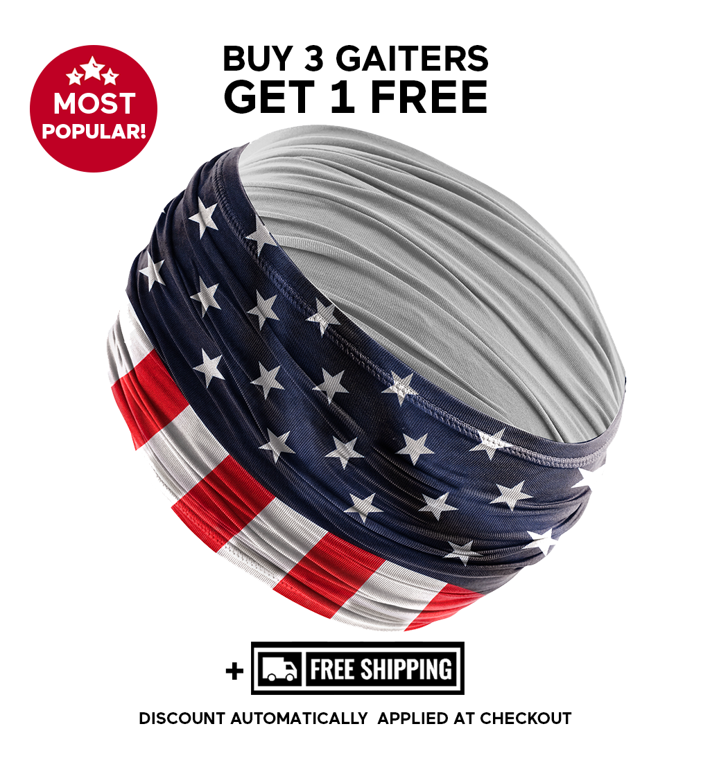 🔥COOLING GAITER/FACE COVER 🎁Last 2 Day Promotion🎁Buy 3 Get 4!