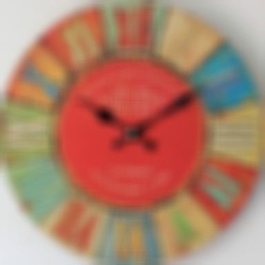 Wall Clock,European Plastic & Metal Round Indoor