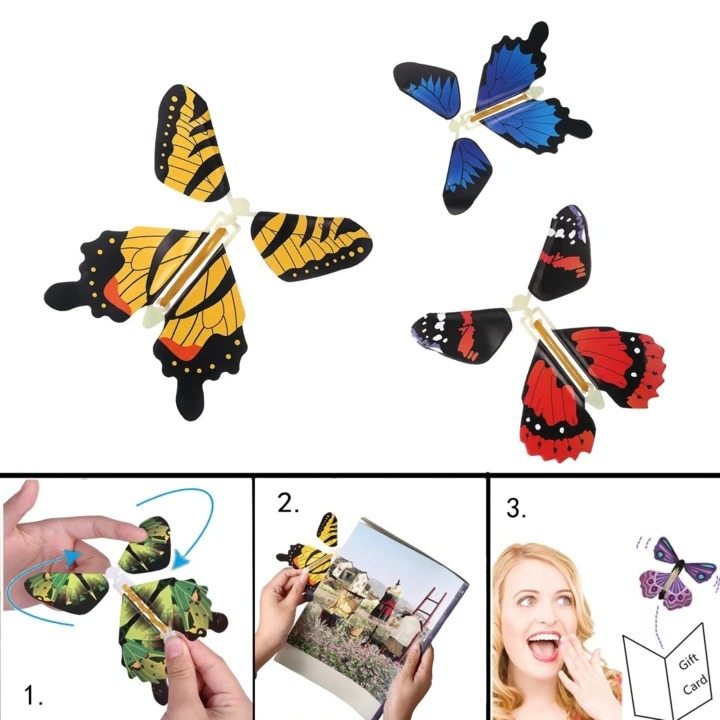 Early Christmas Hot Sale-Magic Butterfly Flying Card Toy(Buy 20 Free Shipping)