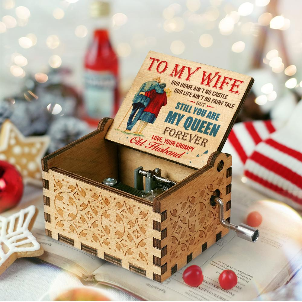 💖Husband To Wife - You Are My Queen Forever - Colorful Music Box