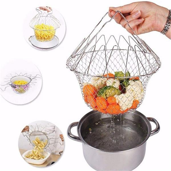 Multi-Function Fold Chef Basket