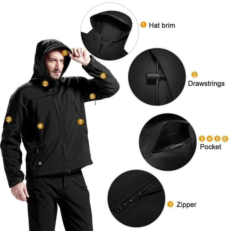 【Hurry up】Outdoors Waterproof Military Tactical Jacket