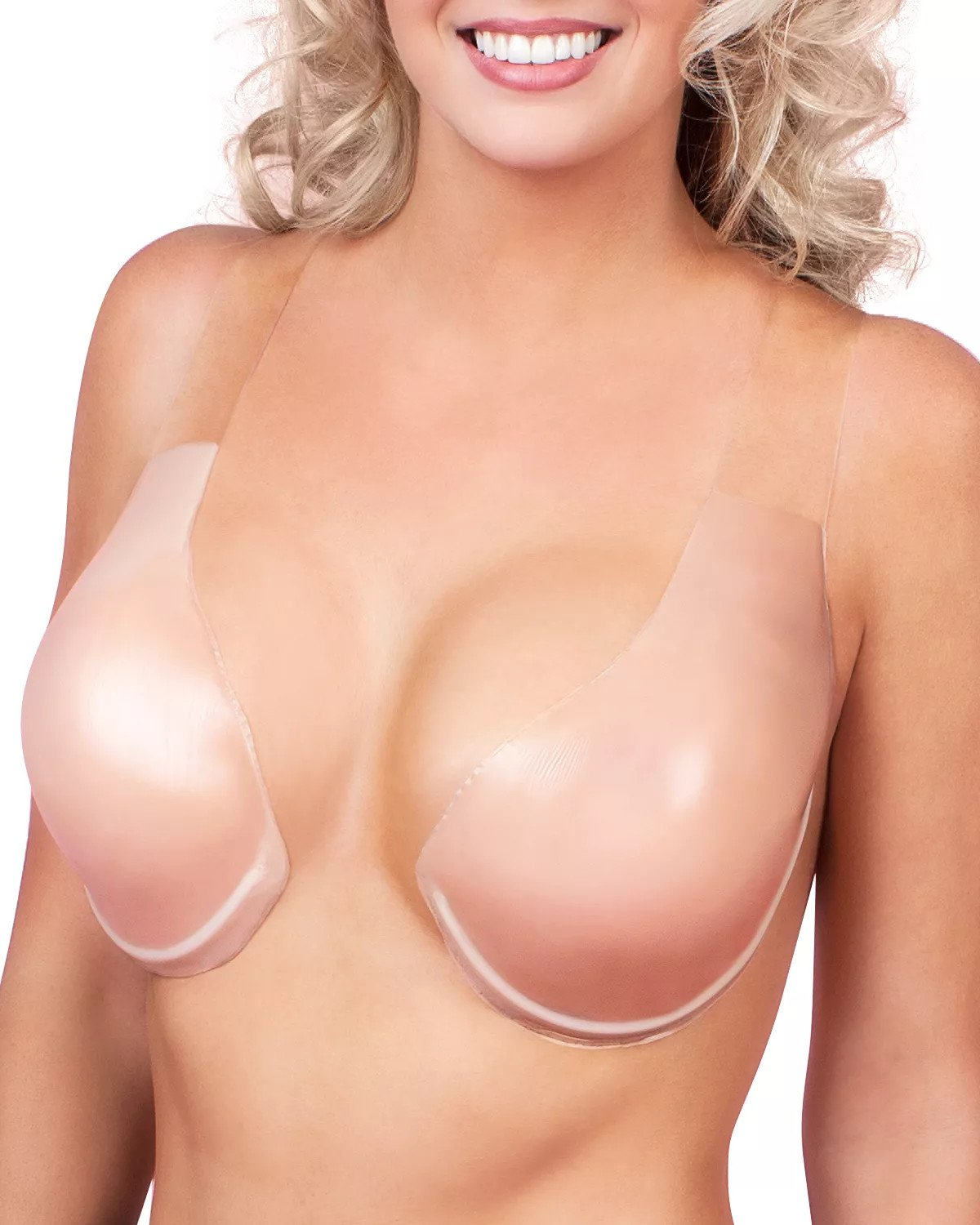 Comfortable Silicone Lift Adhesive Bra (Anti-sweat & hypoallergenic)