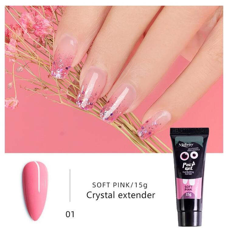【Last Day Promotion & On-Time Delivery】Mobray™ Easy PolyGel Nail Lengthening Kit