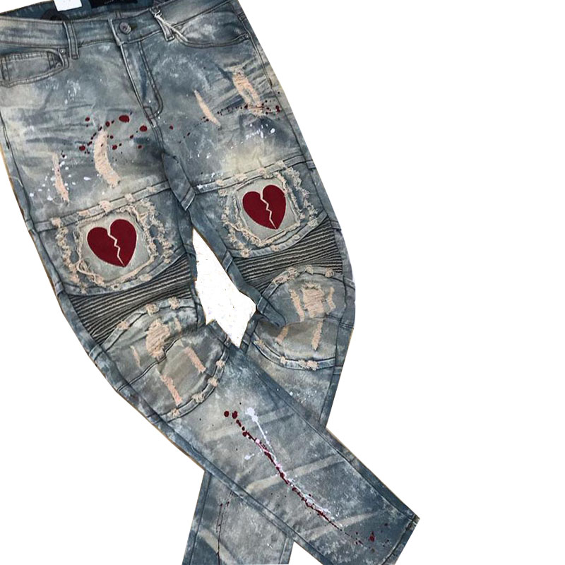 Heart denim restock jeans