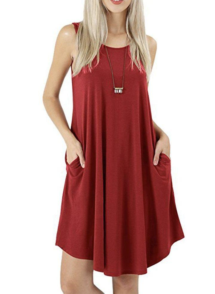 ULTRA-SOFT TANK DRESS