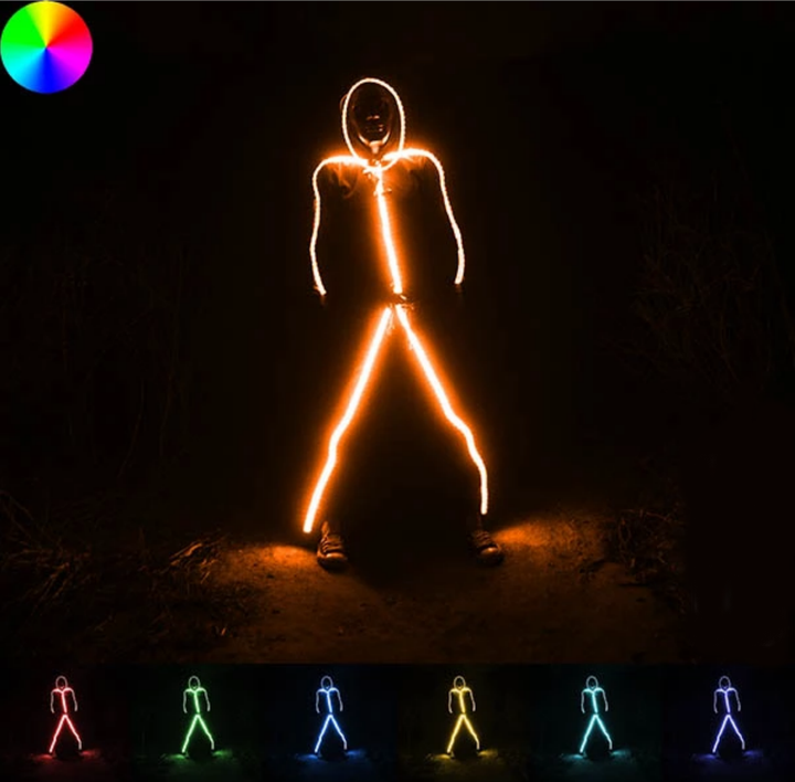 【Up To 50% Off】Light Up Led Stick Figure Kit
