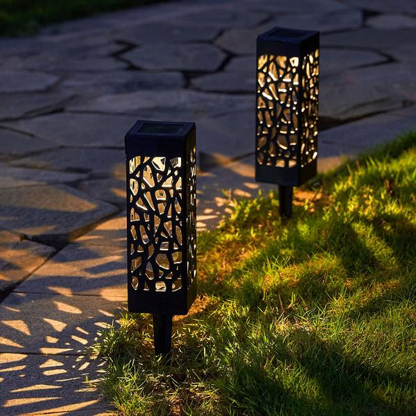 (Only $6.99 Buy 7 Free Shipping)Solar Powered Vintage Garden Lamp