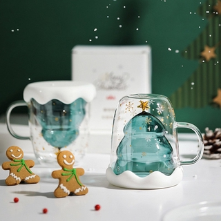 🎄Christmas Tree Double Layer Cup(🔥With Gift Box)