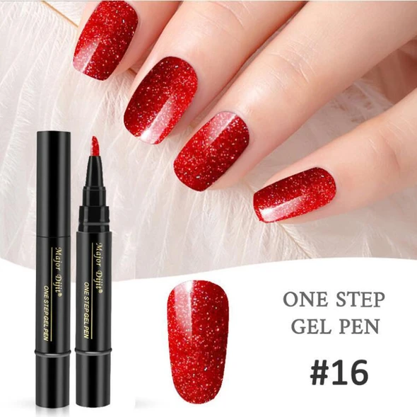 🔥50% OFF🔥18 Colors 3 In 1 One Step Nail Polish Pen