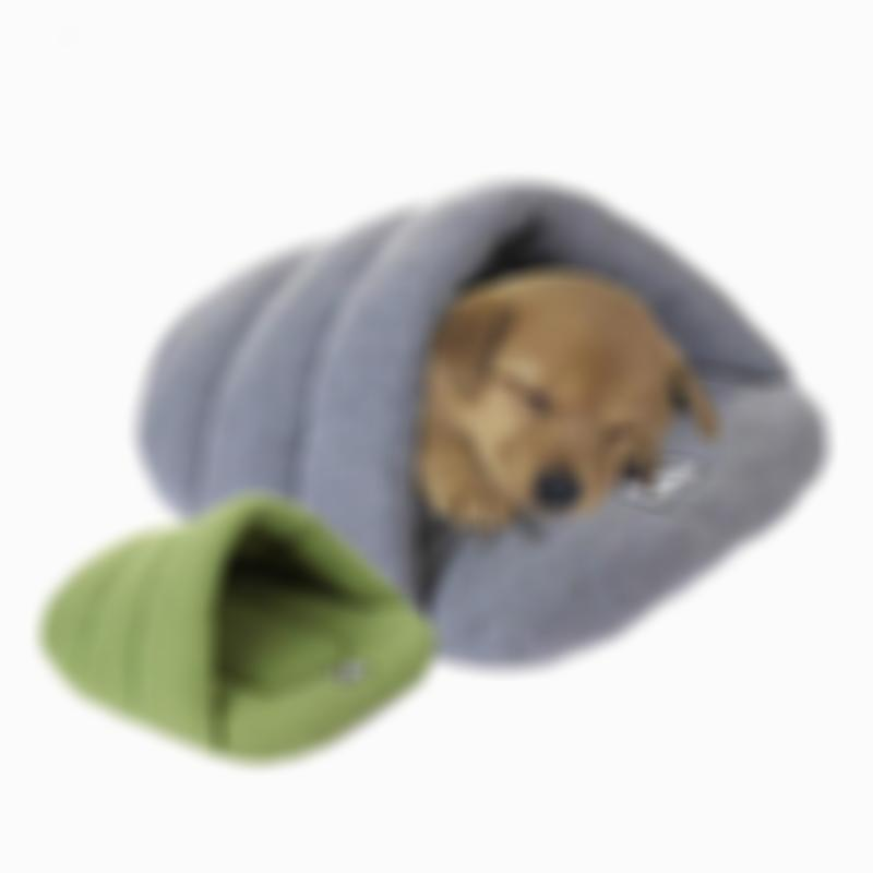 SKRTEN Soft Thick Warm Fleece Pet Sleeping Cave Bed for Dog/Cat/Puppy