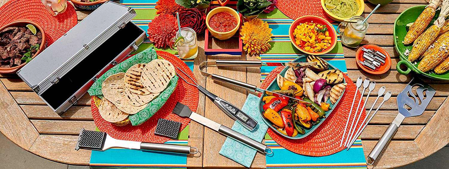 Luxury barbecue Cutlery Set