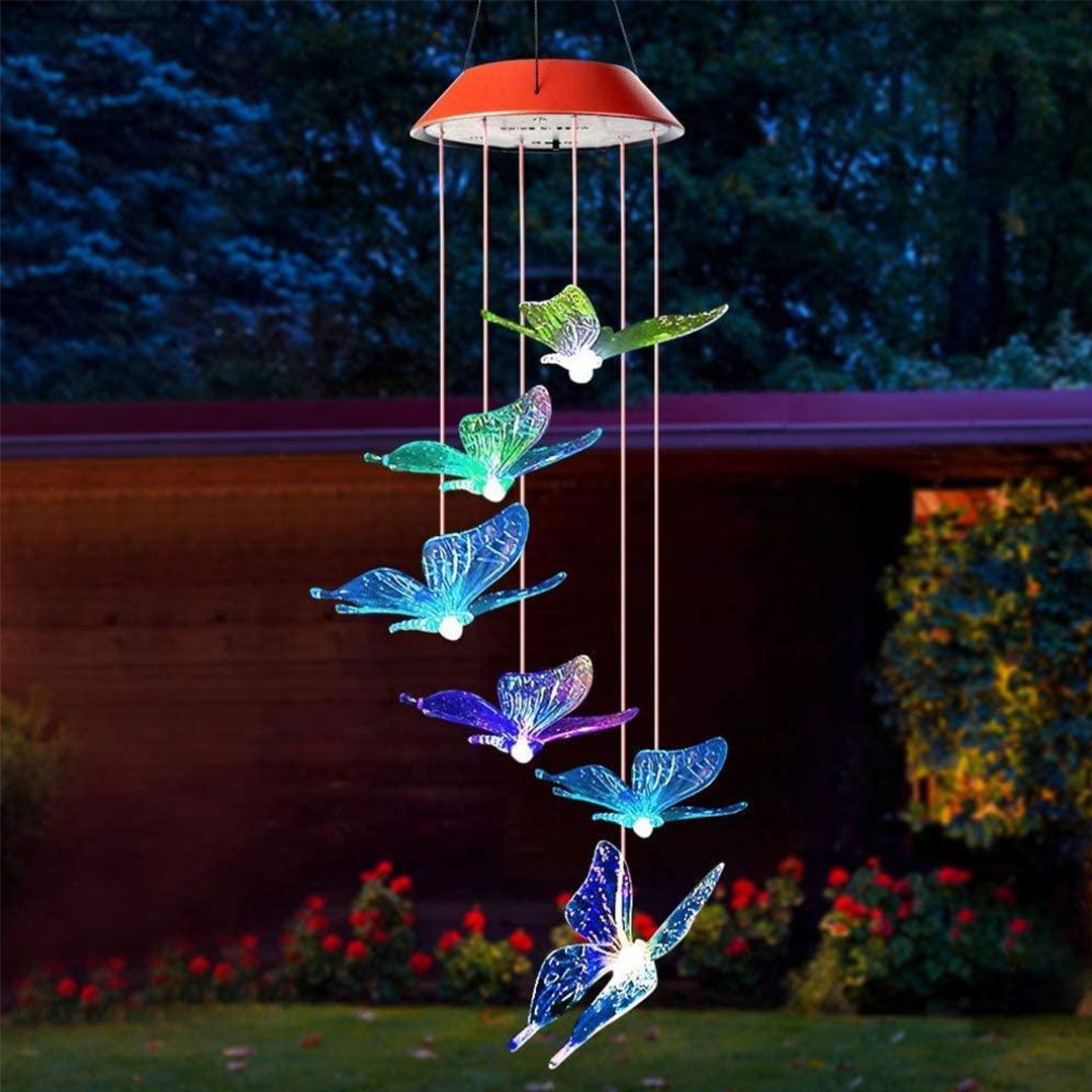 Solar-Powered Butterfly Lights 📢 50% OFF