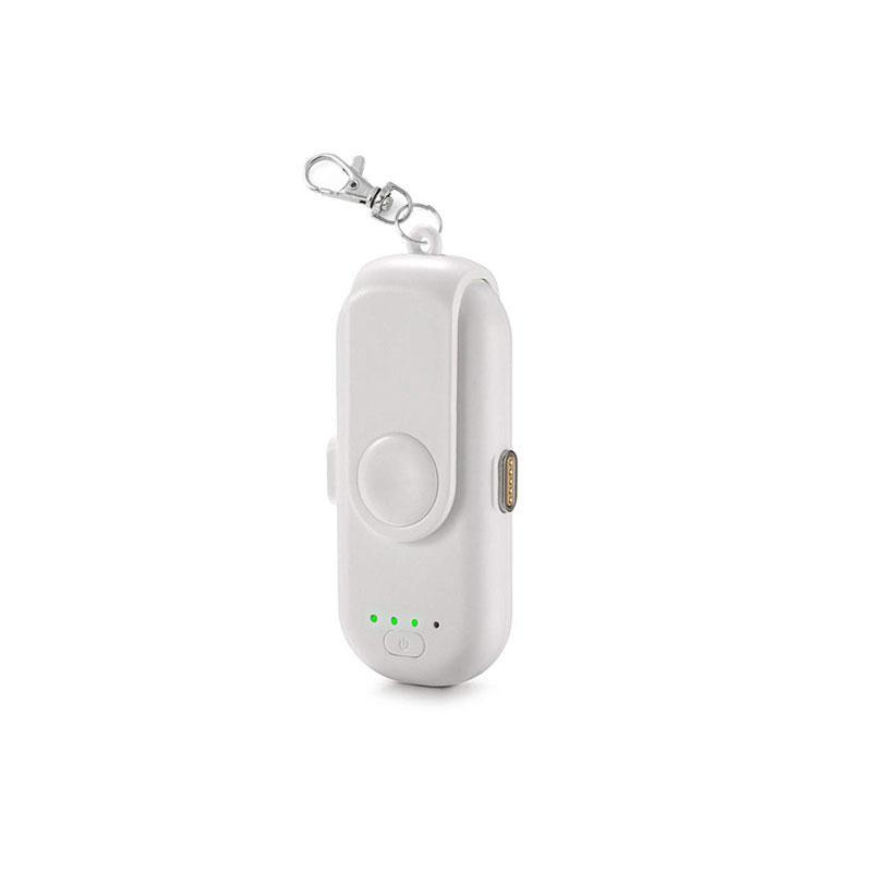 Mini Pocket Magnetic Keychain Charger Fingerpow Power Bank for iPhone/Android