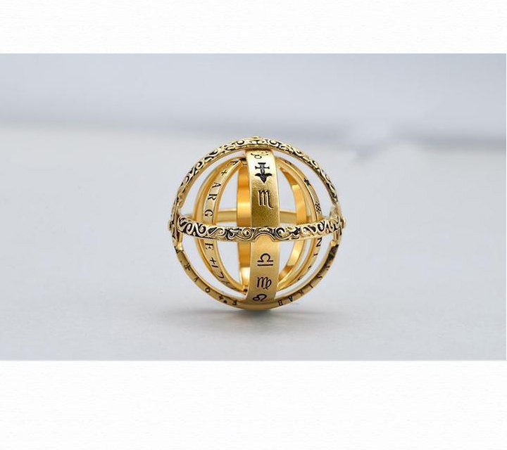 (Mother's Day Gift)16th Century Germany Astronomical Ring