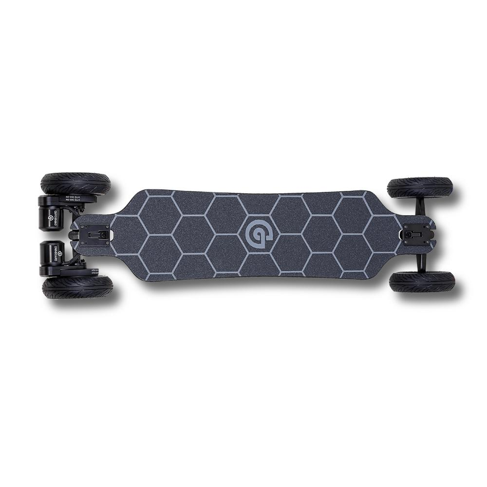 Ownboard Bamboo AT | All Terrain Electric Skateboard | Dual Belt Motor
