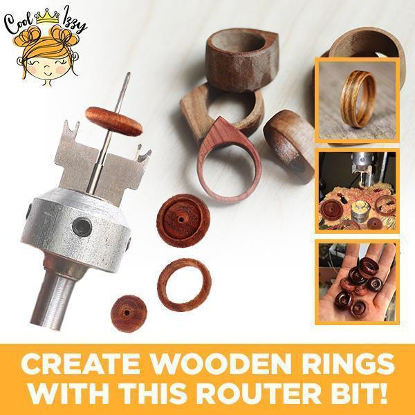 HOT SALE--Wooden Ring & Buckle Router Bit