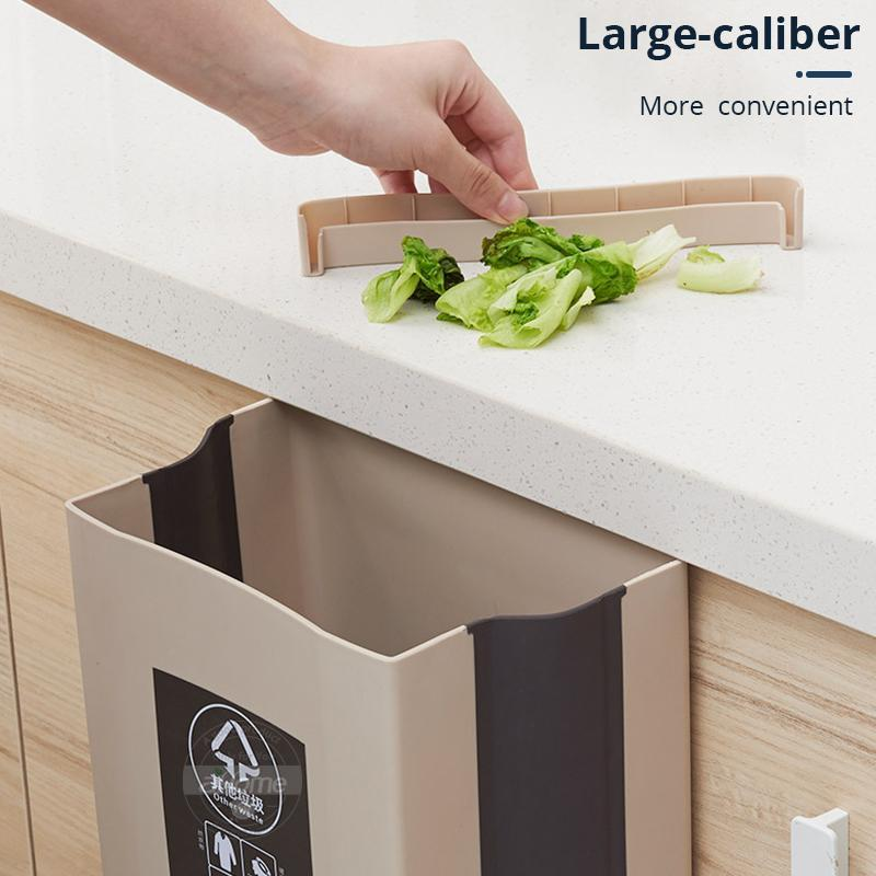 9l Folding Kitchen Trash Cans Sunk