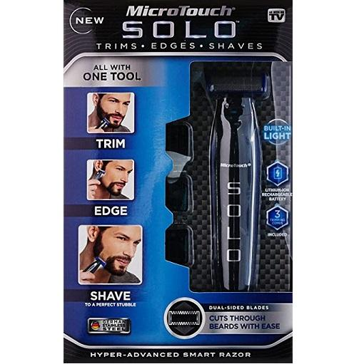 3 in 1 - Hyper-advanced smart razor/SOLO Rechargeable Shaver, Trimmer and Edger