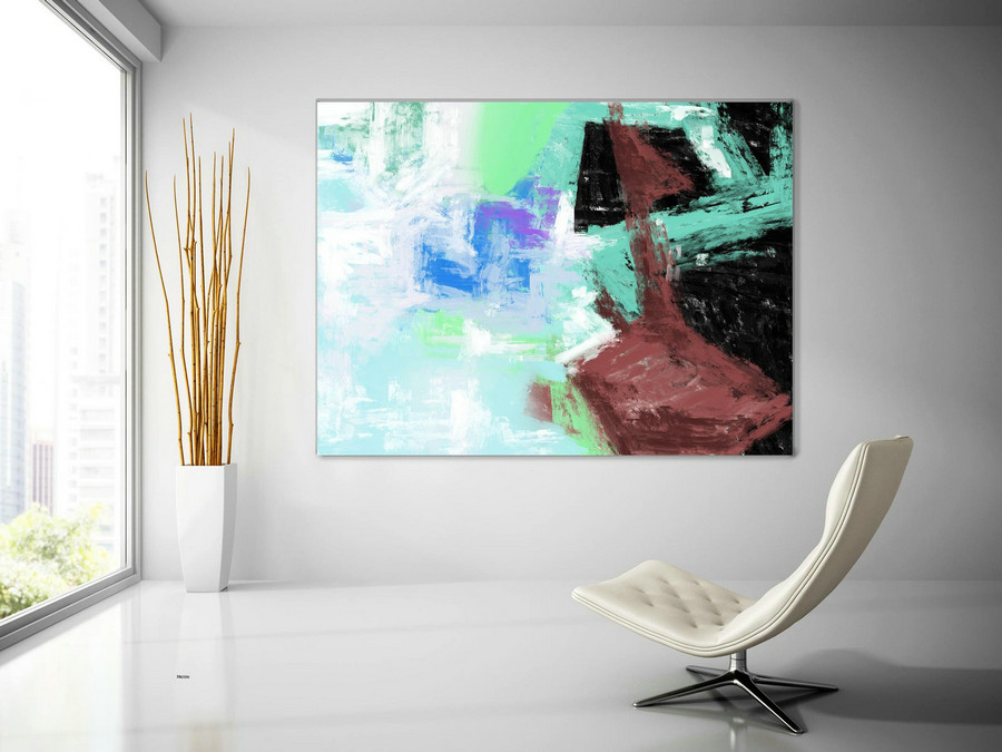 Extra Large Wall Art Palette Knife Artwork Original Painting,Painting on Canvas Modern Wall Decor Contemporary Art, Abstract Painting Pac506