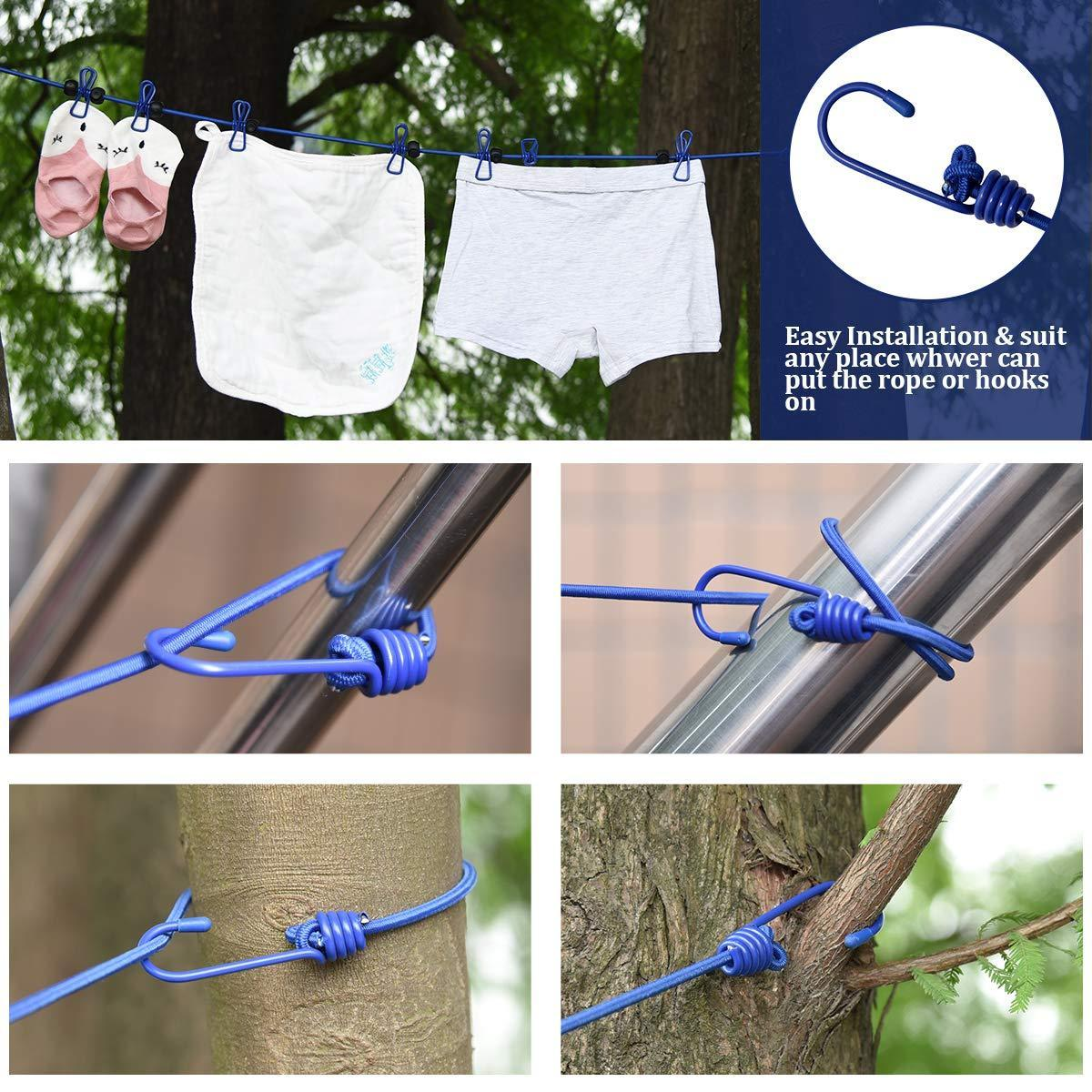 Travel Clothesline With Clothespin - Buy 2 Get 1 Free + Free Shipping!