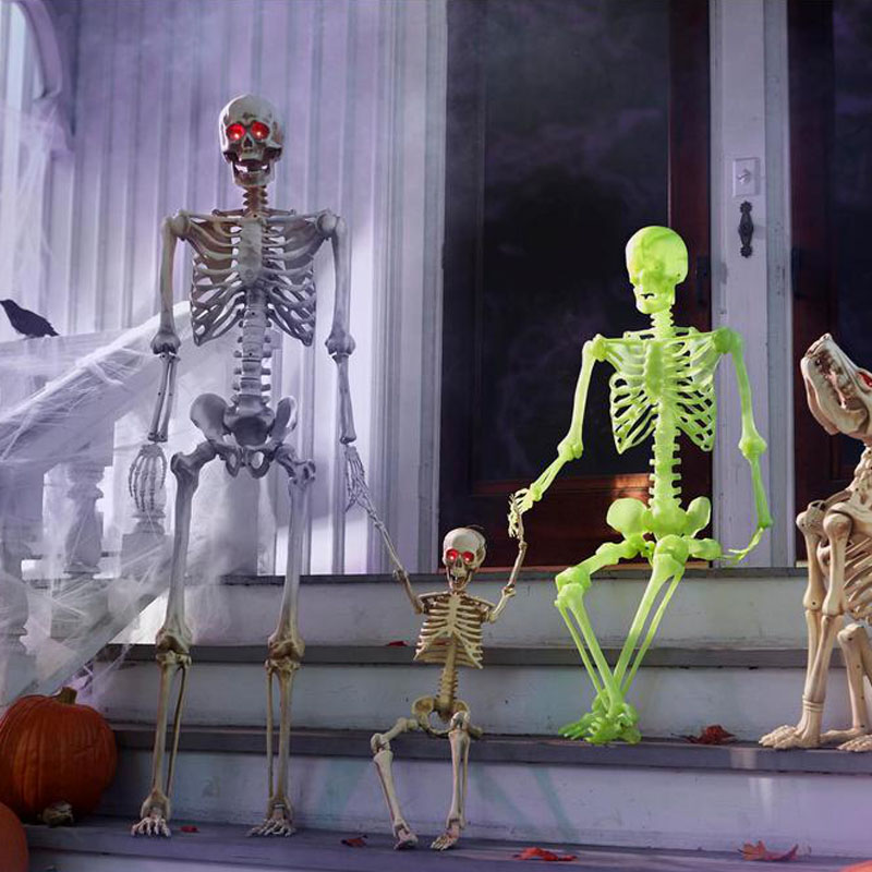 Halloween skeleton model party holiday decoration