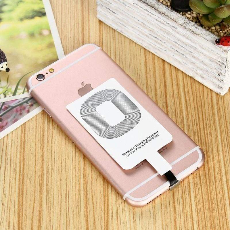 Universal Qi Wireless Charger Receiver Card Charger Module for iPhone Adapter Receptor Receiver Pad Coil Android Phone Micro USB A/B and Type C