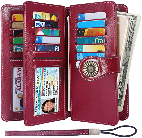 New Leather Wallets for Women
