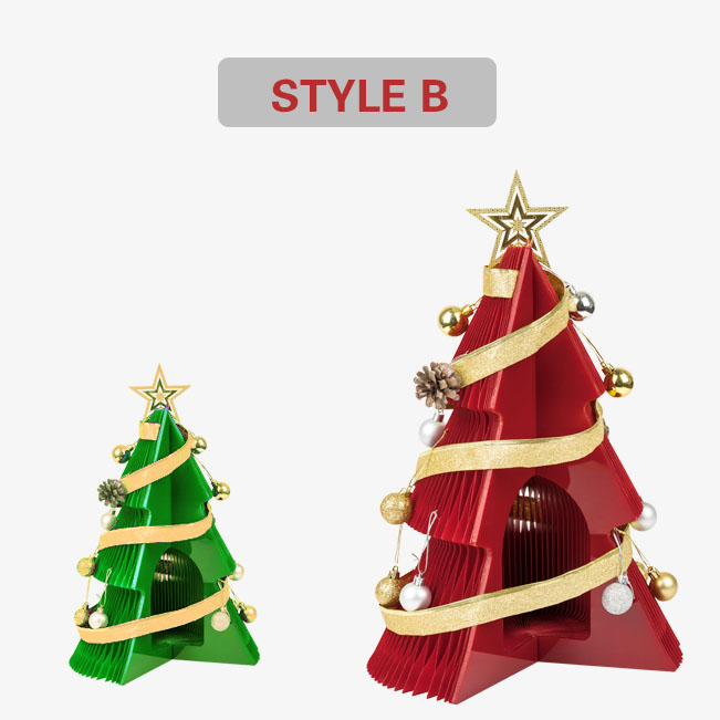 Origami Christmas tree🎄Simple Nordic style design