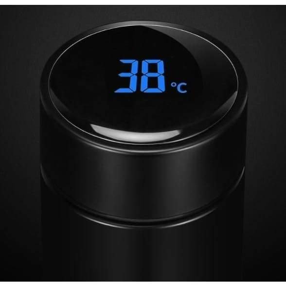 New Insulation Cup Thermos cup that can see the temperature 304 Stainless Steel Portable Business Straight Vacuum cup Men and Women Student Christmas present Hot coffee and wine Stanley