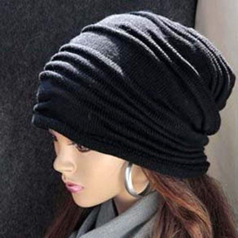 Unisex Men Women Winter Cap Hat Baggy Beanie Knit Crochet Ski oversized slouch Cap ORG