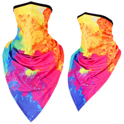 Arosetop Seamless Bandana Multi-purpose Print Neck Gaiter