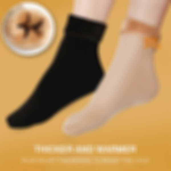 (NEW+HOT PROMOTION) Thicken Thermal Seamless Socks