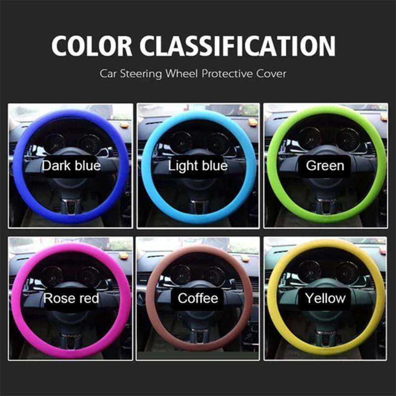 【50% discount for a limited time】Car Steering Wheel Protective Cover