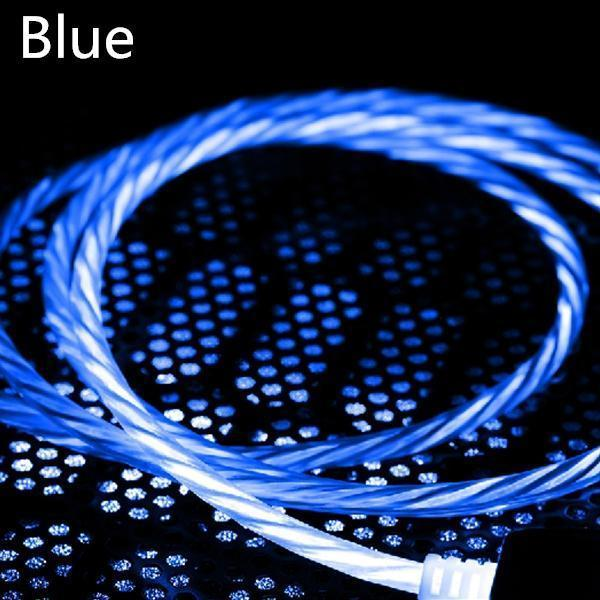 Cool Night Glow Android / Apple/Type-C USB Charger Cable
