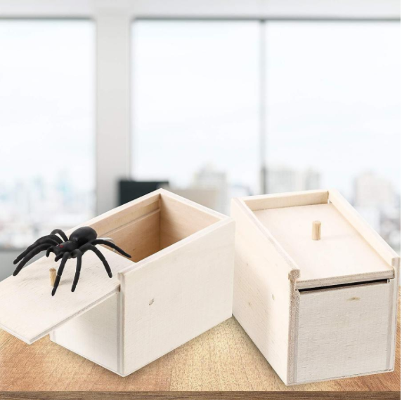 Christmas Sale!! Super Funny Crazy Prank Gift Box Spider