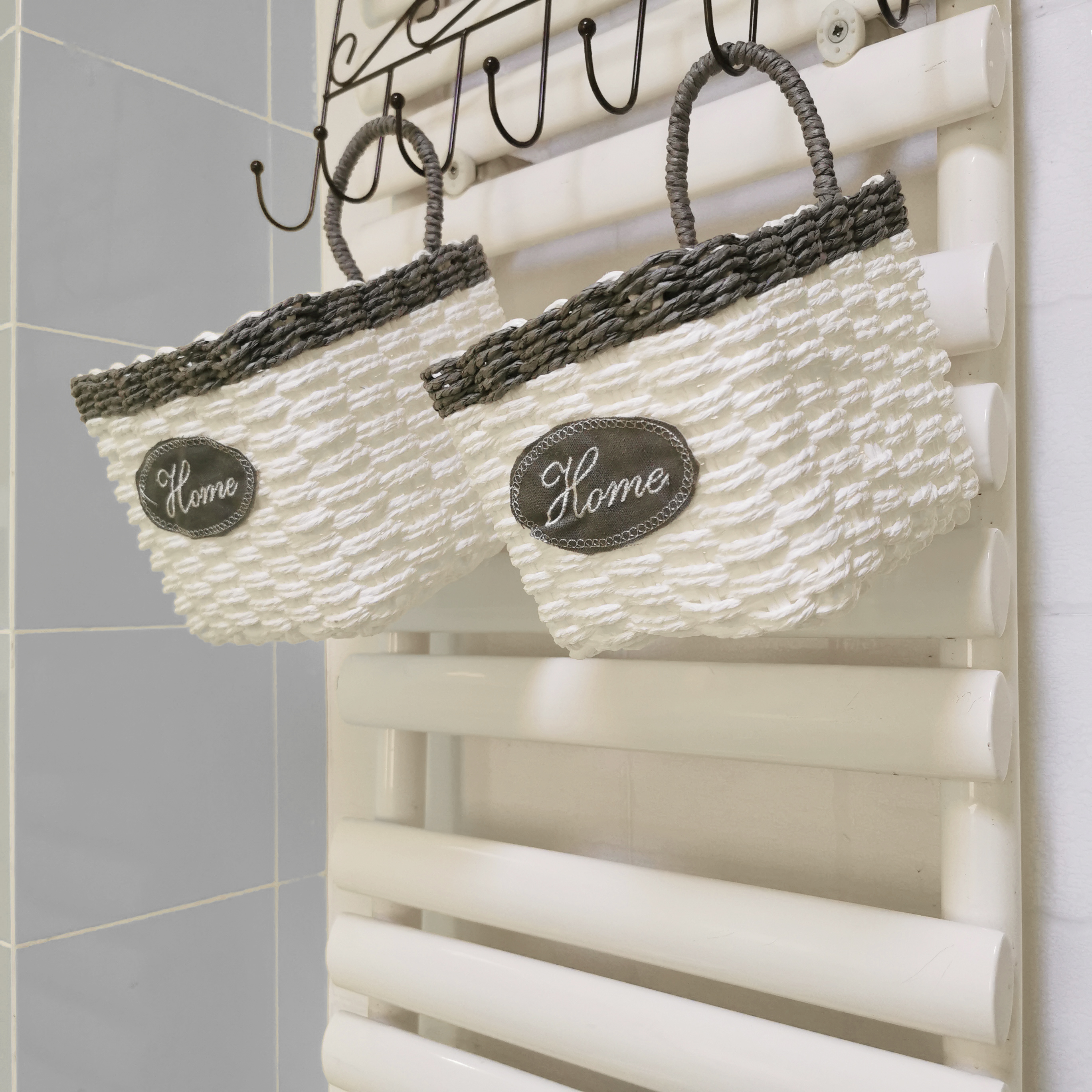 Wall Hanging Storage Baskets Set[2-Pack]