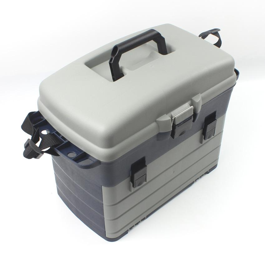 3 Layers Ocean Boat Fishing Toolbox Lure Fishing Tackle Box