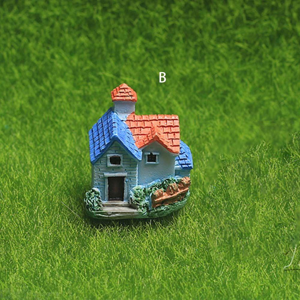 Miniature Resin Castle House Micro Landscape Fairy Garden Cottage Decor Craft For Home Garden Decoration